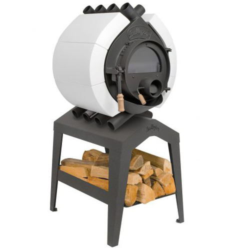 bullerjan free flow type00 ceramic white 8 kw stove bullerjan stoves ireland. Black Bedroom Furniture Sets. Home Design Ideas