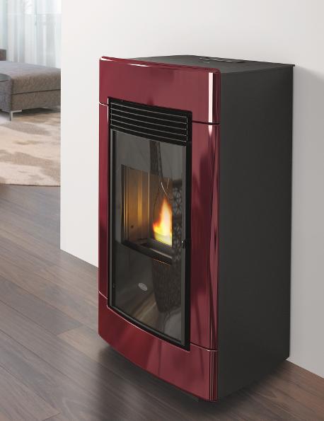 Wood Pellet Boiler >> Laura 13 kW Wood Pellet Stove, pellet stoves, Ireland