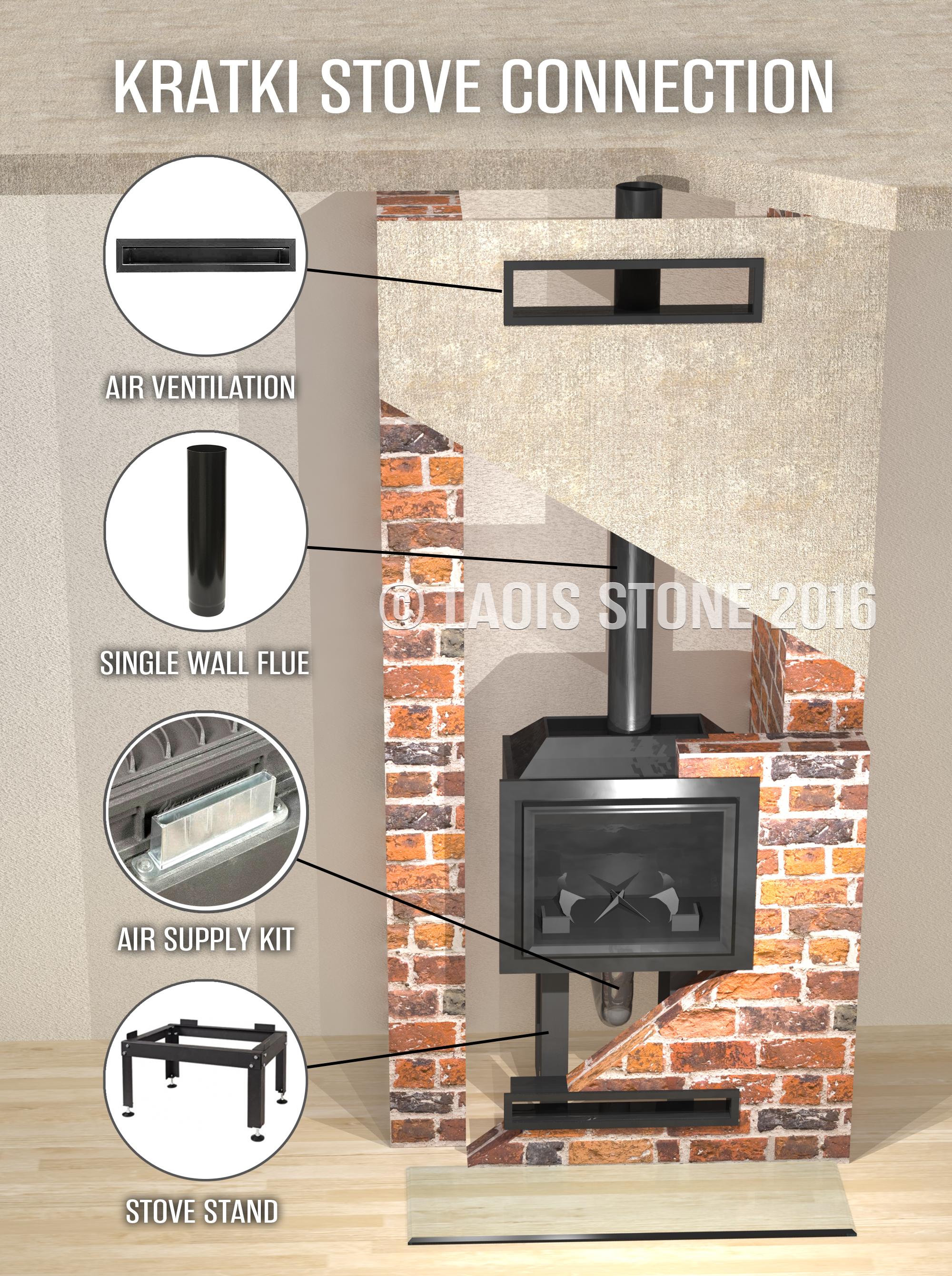 stove u0026 chimney flue installation flexible flue liner fitting