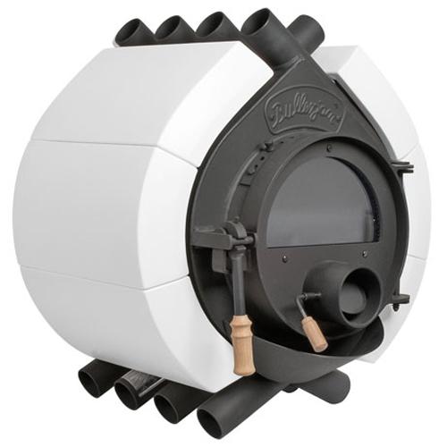 bullerjan free flow type00 ceramic white 8 kw stove. Black Bedroom Furniture Sets. Home Design Ideas