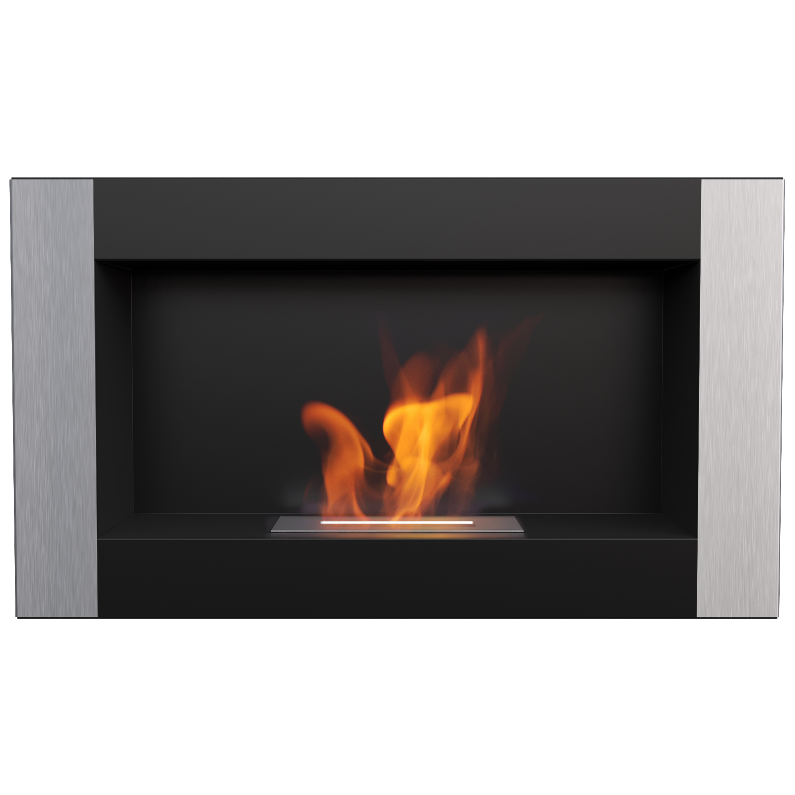 products ardella fireplace bio ignis ethanol wall recessed
