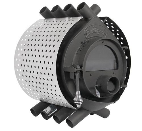 bullerjan free flow type00 stainless steel 8 kw stove. Black Bedroom Furniture Sets. Home Design Ideas